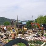 양주서 LP가스 누출 추정 폭발로 두 명 사망