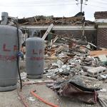 양주 주택가 폭발, 잘린 가스관 때문이었나