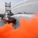 여객선 화재 신속 진화