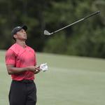 에잇, 우즈… PGA 투어 1위 잡을 뻔하다 11위