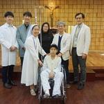 종양 때문에 턱을 잃어버린 몽골소년 가톨릭대 부천성모병원서 재건 수술