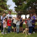 용인동부서, 범죄 피해 청소년 대상 동물매개치료 프로그램 진행