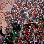 AT마드리드의 남자들에게 세 번째 축포가 터졌다… 유로파리그 결승전 3대 0으로 우승컵 탈환