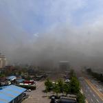 인근 지하철까지 퍼진 '유독성 연기' 현장 지도·주민 대피 조치도 없었다