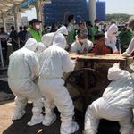 성남 모란시장 최후의 '개 도축' 시설 철거