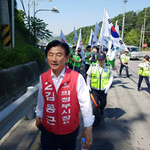 김동근 의정부시장 후보 호국보훈의 달 맞아 청소년들과 현충탑 참배