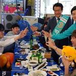 박주원 안산시 로데오 거리 찾아 젊은 유권자들과 교감