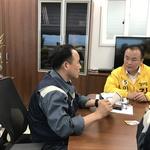김응호, 현대제철 찾아 간담회 진행