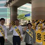 김응호 후보, 현충일 행사 마친 후 남동구서 집중 유세