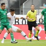 한국 축구대표팀, 월드컵 사전캠프 첫 평가전