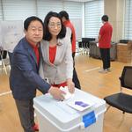 주광덕 경기도당위원장 사전투표