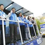 박남춘, 주요 전철역 등 인천 돌며 '바닥 훑기' 선거운동