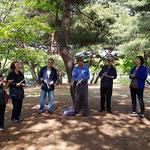 안산 단원보건소, 도시숲을 이용한 산림치유 프로그램 수료식 개최