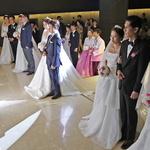 도내 외국인 노동자 합동결혼식
