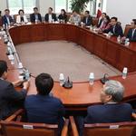 한자리에 모인 자유한국당 초선 의원들