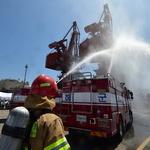 인천항 화재대비 훈련