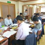 평택시 안중출장소 '소통간담회' 서부지역 도·시의원과 현안 공유