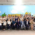 부천소사경찰서, '옥길 터널' 내 벽화 완성