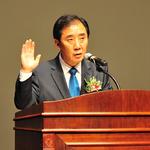 박윤국 포천시장 취임식 갖고 시정업무 시작