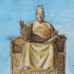 '세종대왕' 600년 전 모습 수채화로 만나다