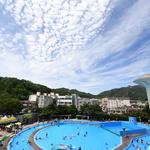 물 만난 안양종합운동장 야외수영장