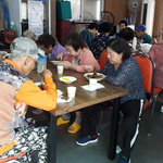 평택시 자율방범대, 노인 150여명 초청 '짜장면 파티'
