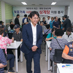 인천 서구 재향군인회, 초복 맞이 '삼계탕 대접 행사' 열어