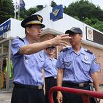 박찬현 중부지방해양경찰청장, 관내 해수욕장 안전 점검