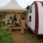 휴가철 캠핑장 화재 예방 활동 강화