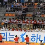 '탁구 남북 단일팀' 코리아오픈서 '우리는 하나다'