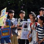 초등생들 선거전 후끈