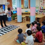 의정부경찰서, '어린이 차량 갇힘 예방'  맞춤형 교통교육