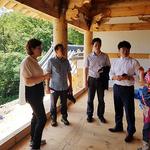 과천시의회, 경기도지정 기념물  '관악사' 복원 현장 방문