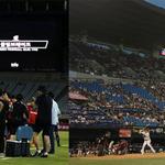 폭염에 쉬다 가는 축구와 그럴 수 없는 야구