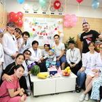 순천향대 부천병원, 수술 마친 카자흐스탄 환아에 '축하 돌잔치' 선물