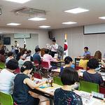 오산소방서, 통장단에 소방시설 의무설치 홍보활동