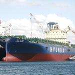 현대상선, 연료 절감 우수선박 포상… 싱가포르호 1위