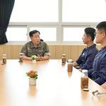 심승섭 해군참모총장, 제2함대사령부 군사대비태세 점검