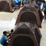 '난민들의 삶' 직접 체험