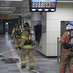 과천소방서, 지하철 4호선 선바위역서 재난대응 훈련