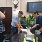 가평군 공무원, 암투병 동료에 희망 성금 전달