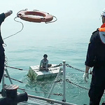 평택해경, 바다 추락 미얀마인 선원 구조