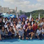 인천 남동구 만수1동 통장협, 광복절 맞아 태극기 달기 캠페인
