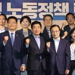민주 당대표 후보들 TV 토론회 '설전 팽팽'