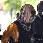 김정남 암살 용의자 재판, 웃음 뜻하는 'LOL' 티셔츠 왜? 코리아 드림인가