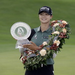 LPGA 투어 시즌 3승 박성현, 다시 세계 1위