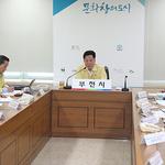 부천시, '태풍 솔릭 북상' 재난 협업부서장 등  집중호우 대책 논의