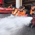 도재난안전본부, 수방장비 점검