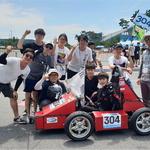 가천대 자작차 동아리 'SCUD' 대학생 대회서 전기차 부문 1위