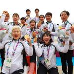 카누 용선, 단일팀 1호 금메달